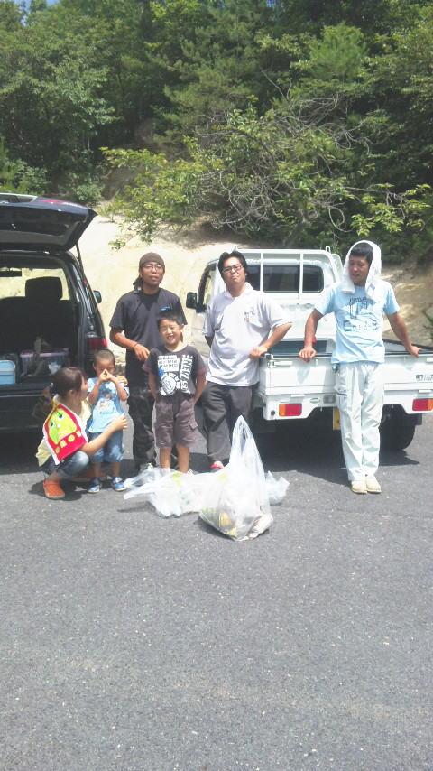 2013/07/14 神谷池清掃